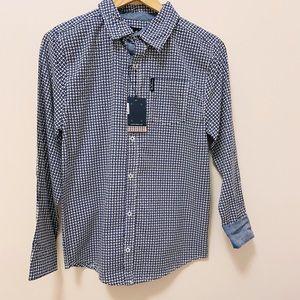Ben Sherman boys Dress shirt. Size: L 14-16.